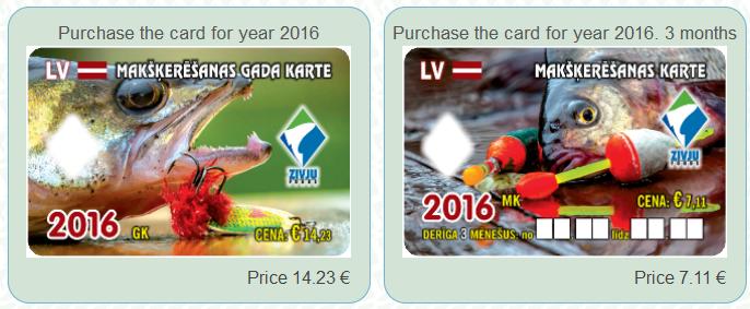 zvejo bilietas latvijoje